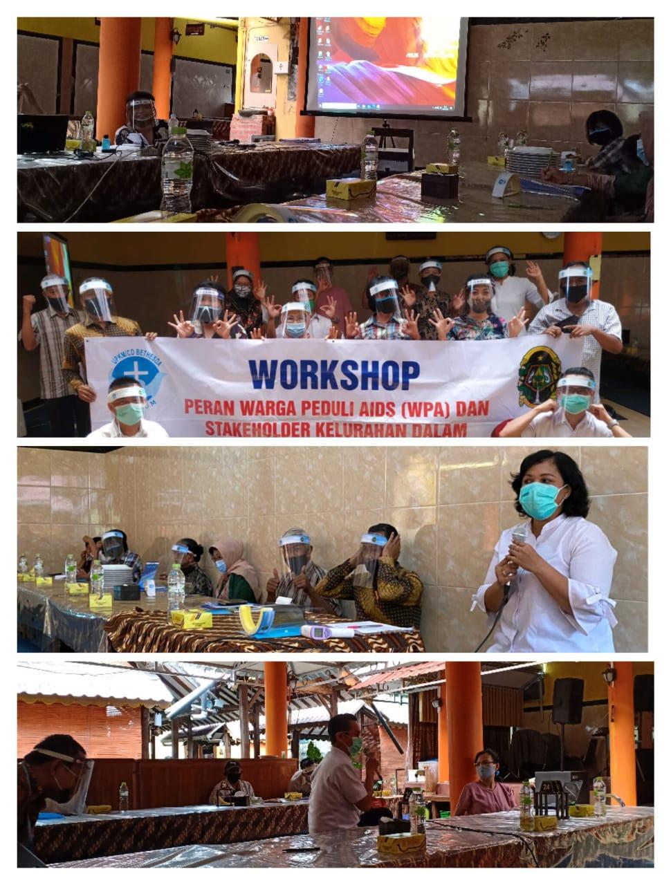 Workshop WPA dan Stakeholder Kelurahan Pringgokusuman Dalam Penanggulangan HIV dan AIDS