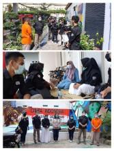 Kunjungan Kerja Kelurahan Sekeloa Kecamatan Coblong Kota Bandung di RW 20 Sutodirjan