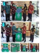 Distribusi Bantuan Wastafel Portabel di Wilayah Kelurahan Pringgokusuman