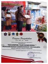Poktan Kemuning Dikukuhkan Sebagai Kampung Tangguh Nusantara