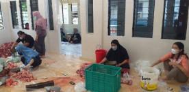 Pelaksanaan Idul Adha di wilayah Kelurahan Pringgokusuman dalam masa PPKM