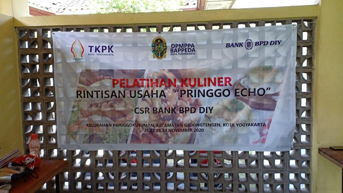 Pelatihan Kuliner KRU Pringgo Echo